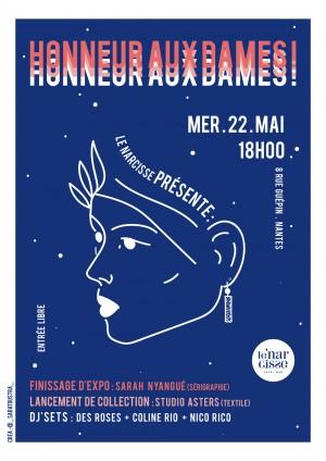 honneur-aux-dames-affiche-exposition-nantes-sarah-nyangue-saratoustra-ilustratrice-freelance