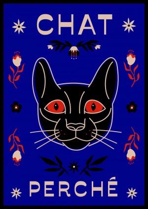 chat-perche-affiche-print-illustration-nantes-sarah-nyangue-saratoustra
