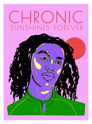cosmo-pyke-chronic-sunshines-musique-cadre-art-illustration-art-nantes-sarah-nyangue-saratoustra