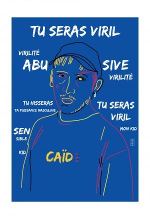 virilite-eddy-de-pretto-musique-cadre-art-illustration-art-nantes-sarah-nyangue-saratoustra
