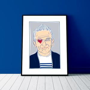 jean-paul-gaultier-amour-toujours-print-paris-cadre-illustration-nantes-sarah-nyangue-saratoustra