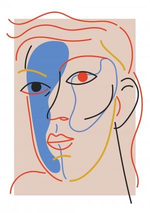 l-autre-dans-l-un-art-print-illustration-deco-abstrait-sarah-nyangue-saratoustra