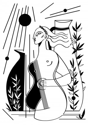 la-corde-sensible-serigraphie-illustration-nantes-sarah-nyangue-saratoustra