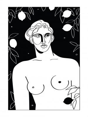 le-gout-des-citrons-serigraphie-illustration-nantes-sarah-nyangue-saratoustra