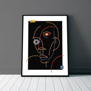 les-choses-de-l-esprit-print-cadre-picasso-illustration-art-sarah-nyangue-saratoustra