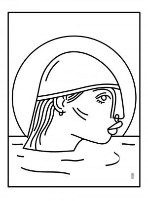 nageuse-repro-illustration-art-nantes-sarah-nyangue-saratoustra