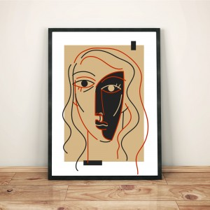 rictus-cadre-illustration-nantes-print-deco-sarah-nyangue-saratoustra