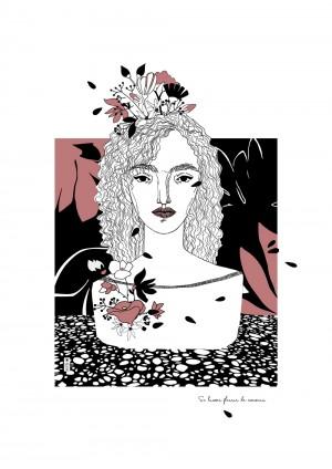 se-laisser-fleurir-de-nouveau-serigraphie-illustration-art-sarah-nyangue-saratoustra-nantes