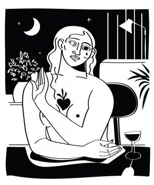 un-coeur-tendre-serigraphie-illustration-nantes-sarah-nyangue-saratoustra